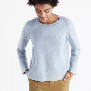 Madewell laced back pullover sweater